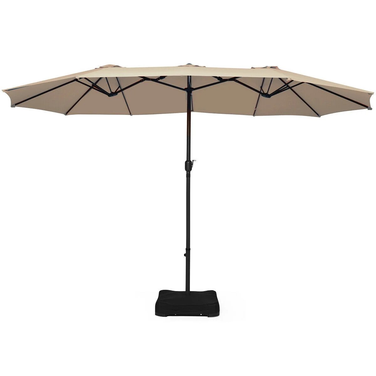 15 ft patio umbrella outdoor umbrella with crank base