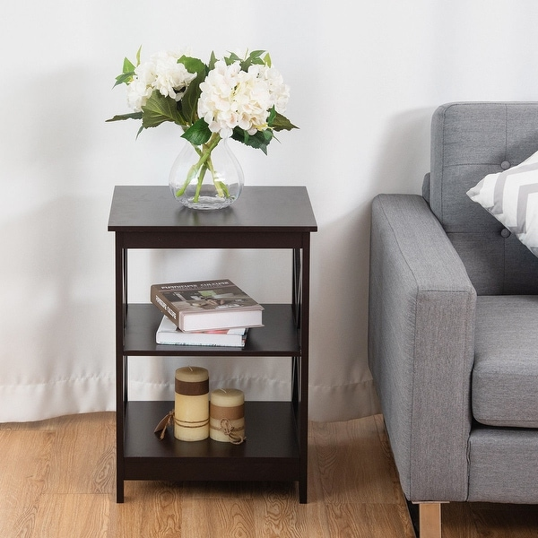 small nightstand bedside table end table