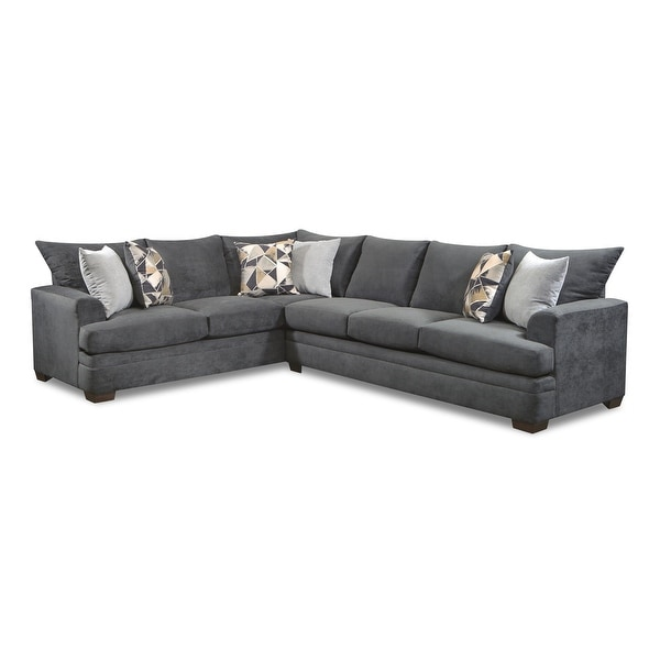 ashly charcoal right facing sectional