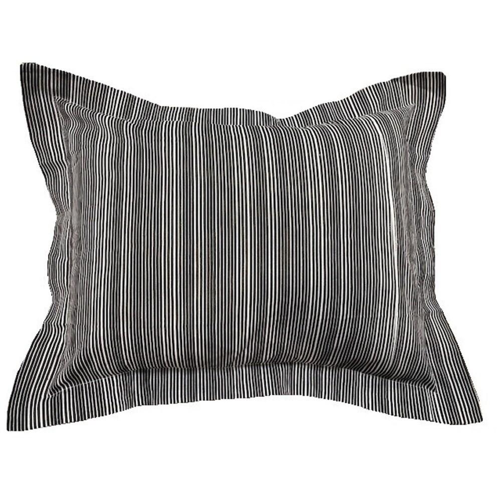 black pillow shams online at overstock