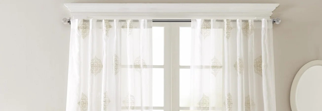 Buy Sheer Curtains Online at Overstock com   Our Best Window     Five Ways to Decorate  with Sheer Curtains