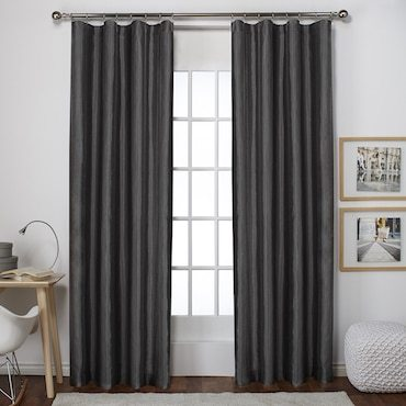how to attach round rings on a curtain