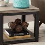 How To Decorate With A Large End Table Overstock Com