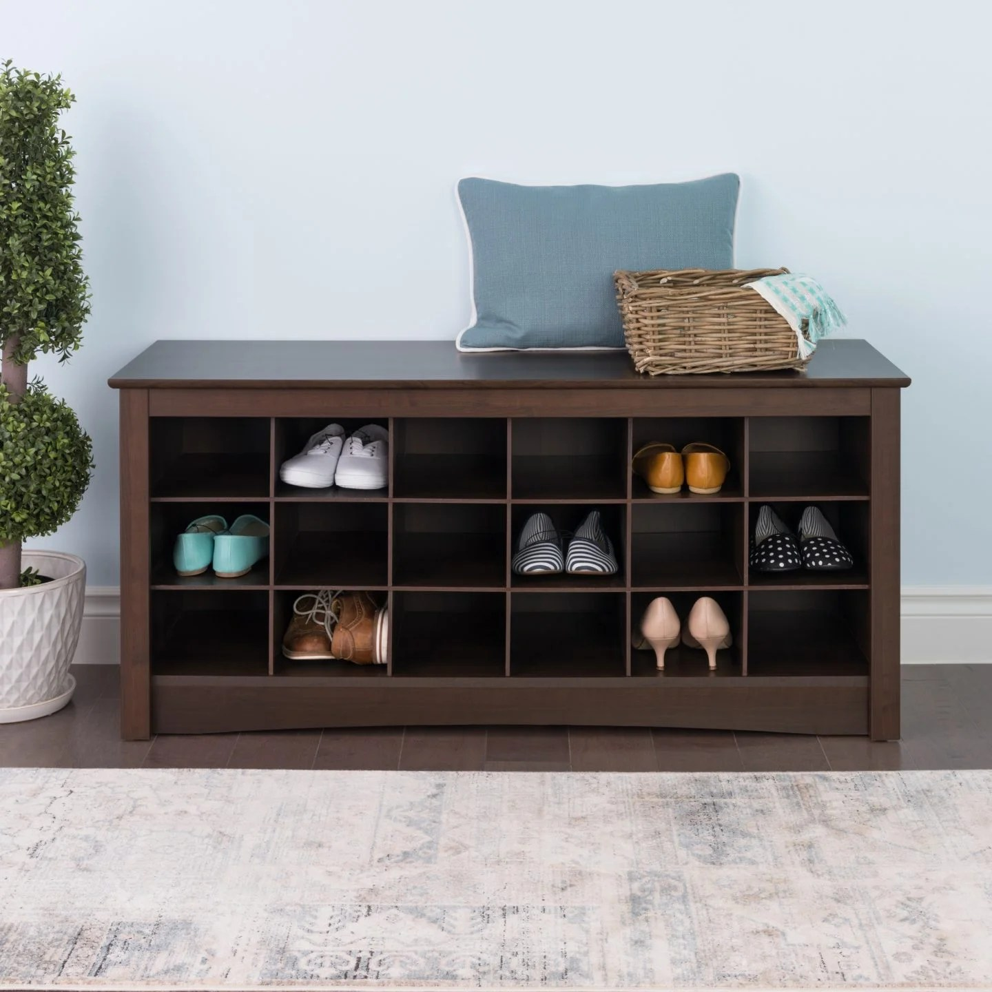 4 Types Of Shoe Storage Solutions For Your Home Overstock Com