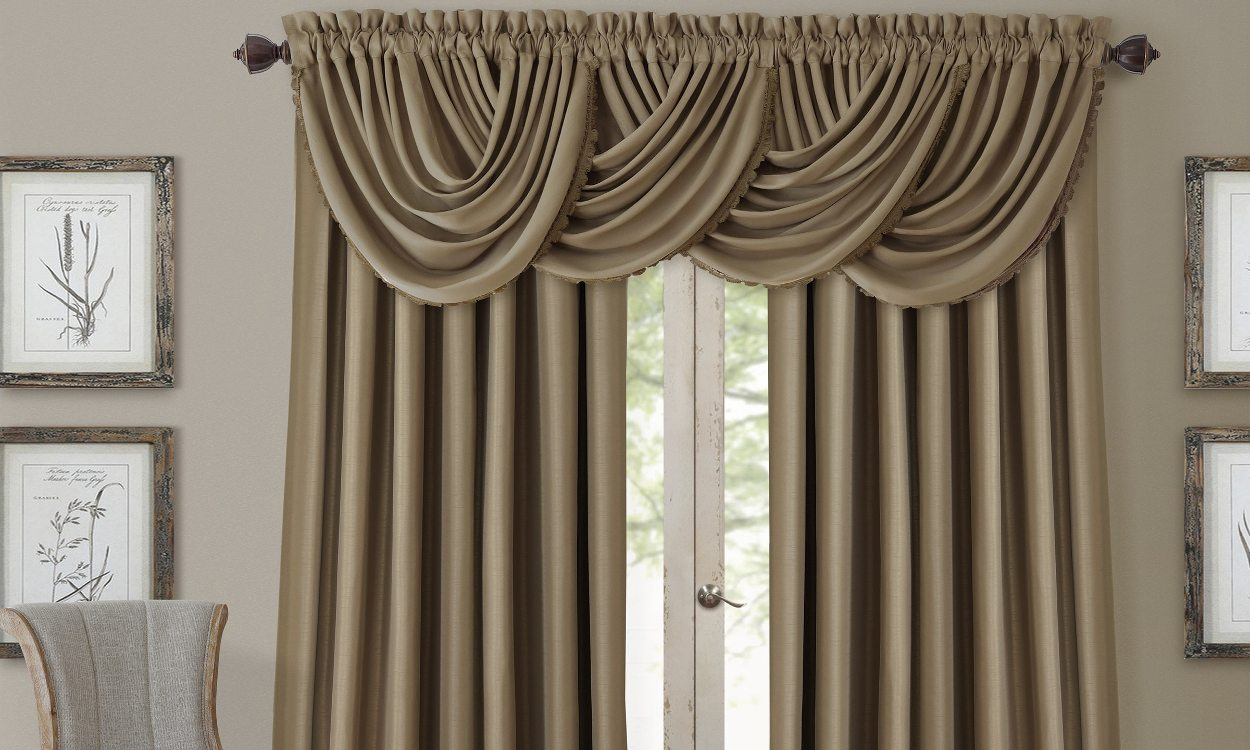 curtain rods for formal living rooms