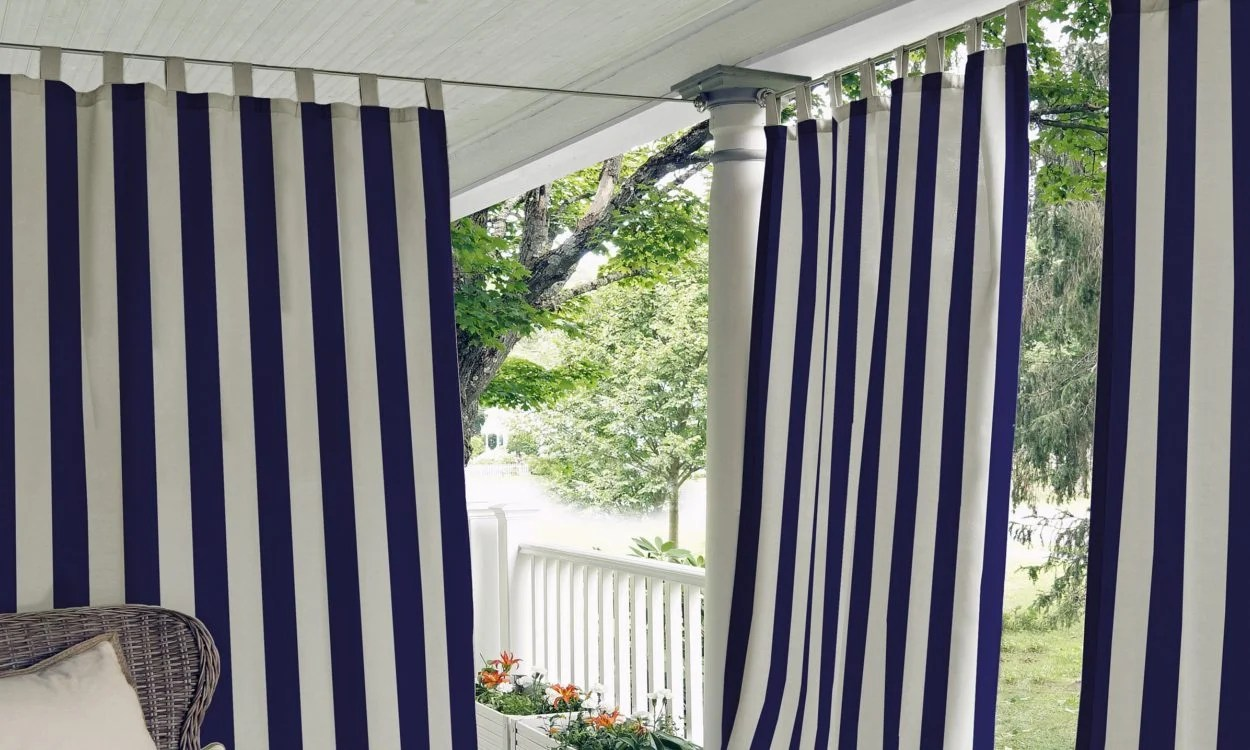 How To Hang A Curtain Rod From The Ceiling Overstock Com