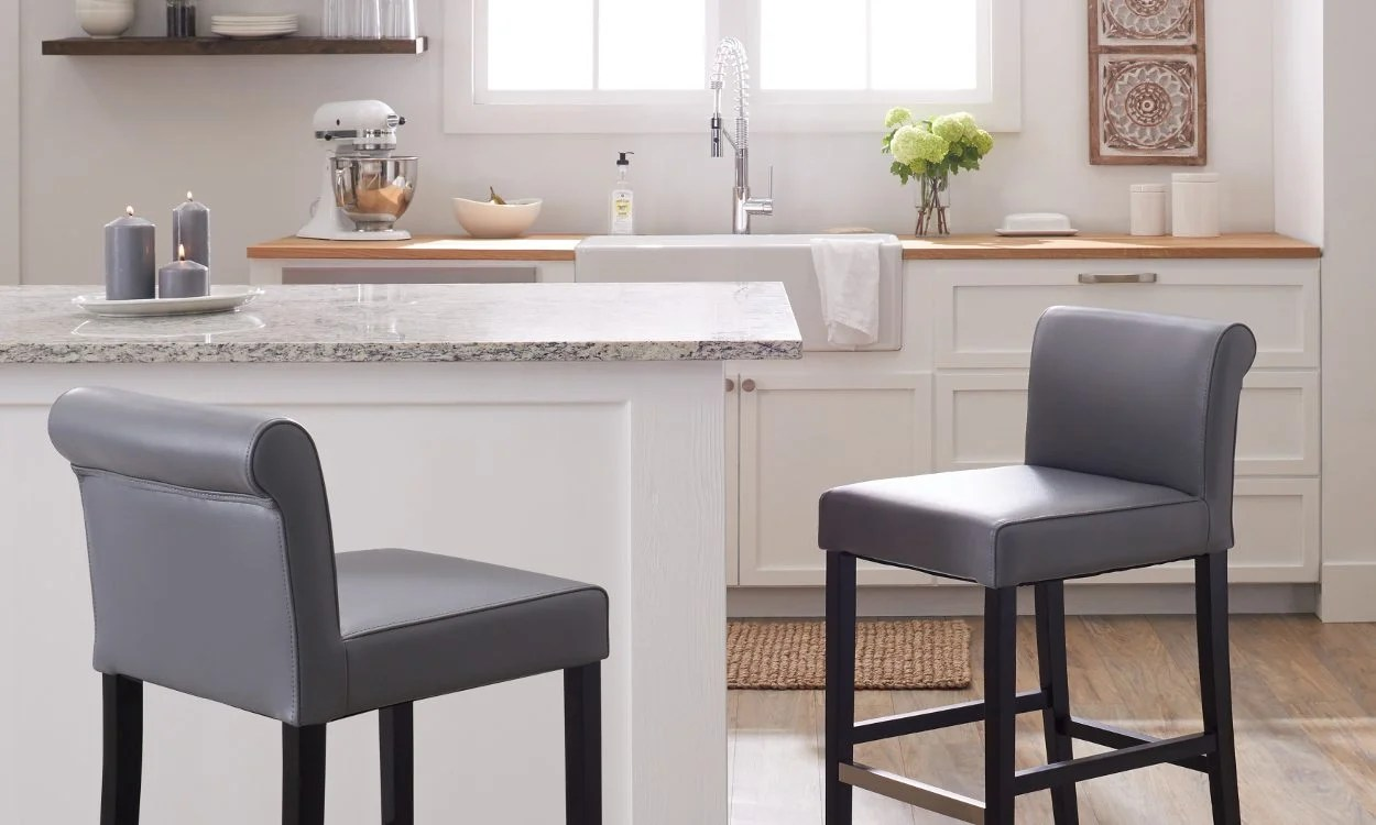The 3 Best Counter Stool Upholstery Materials Overstock Com