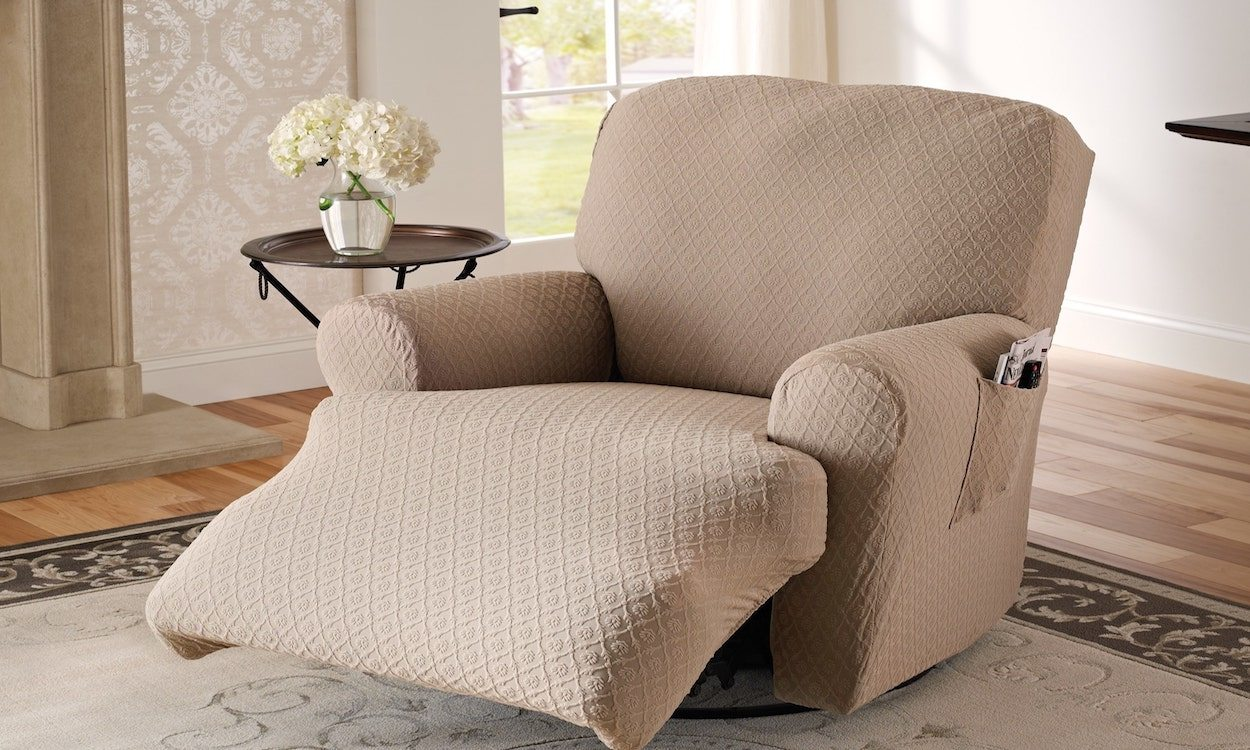 to measure a recliner for a slipcover
