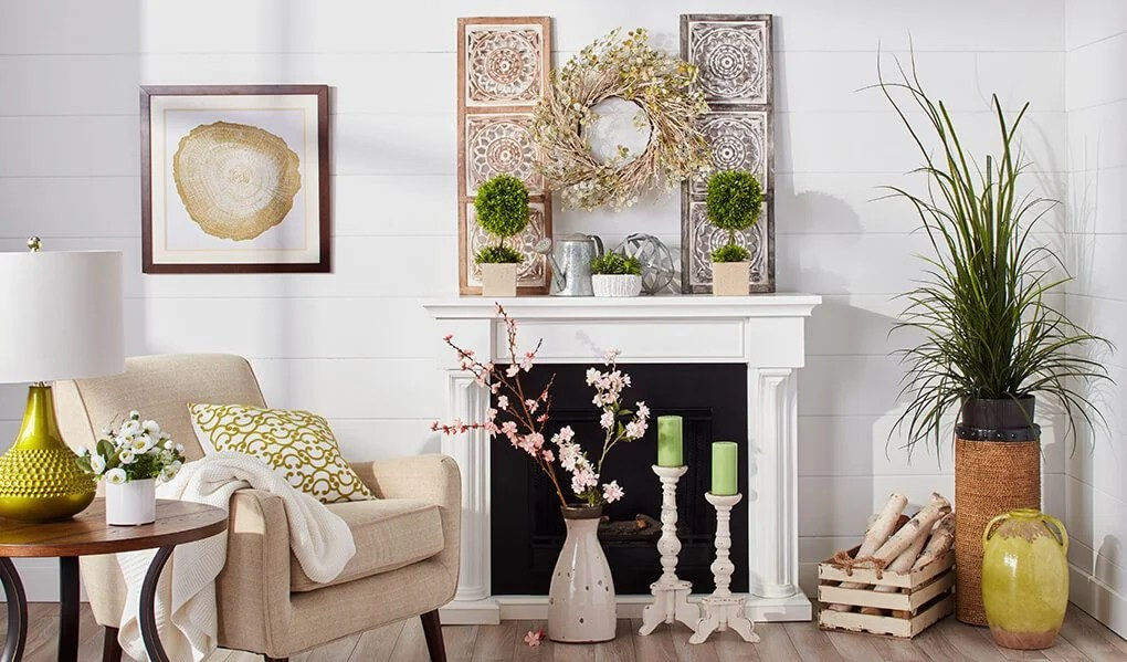 Best 43 Inspiration Smart Ways To Refresh Your Fireplace For Spring