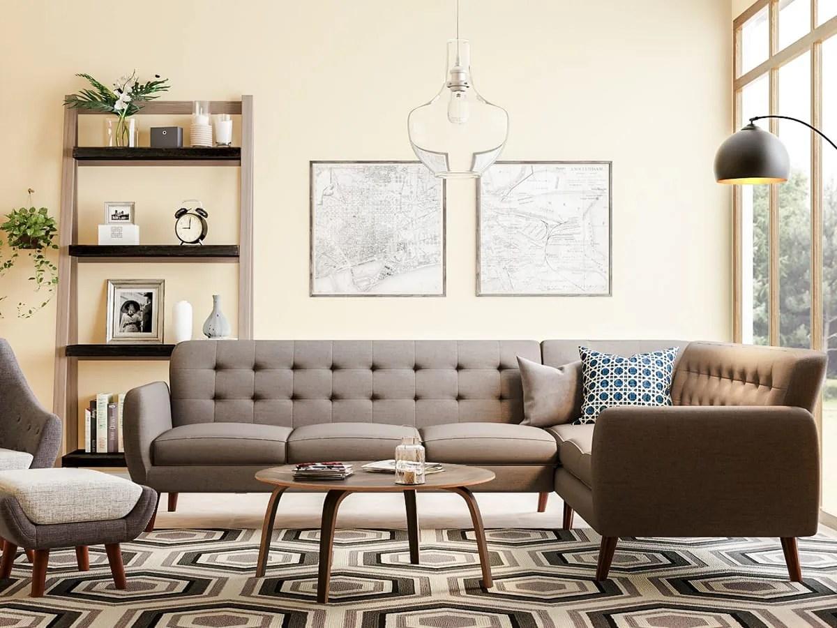 20 mid century modern living room ideas