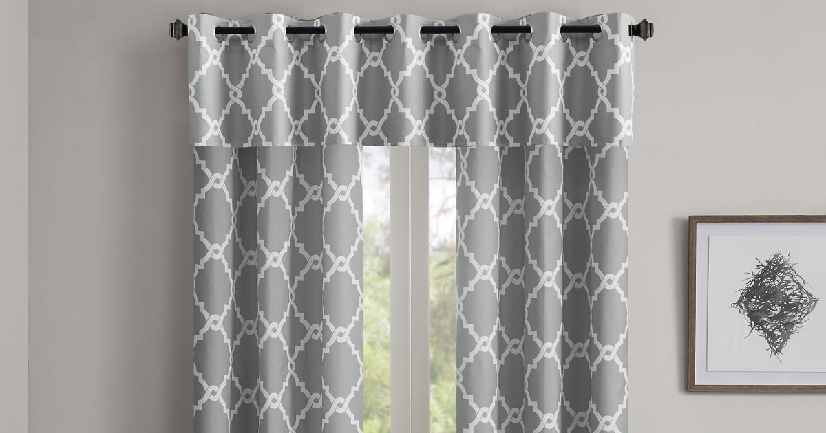 hang a valance and curtains in 6 easy