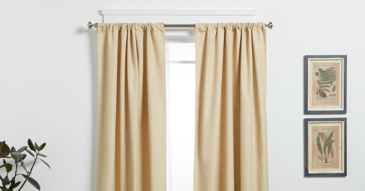 How To Buy The Right Curtain Rods For Your Home Overstock Com