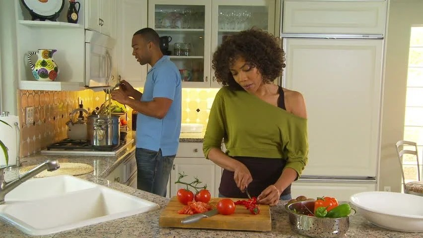 Image result for Images of black couples eating