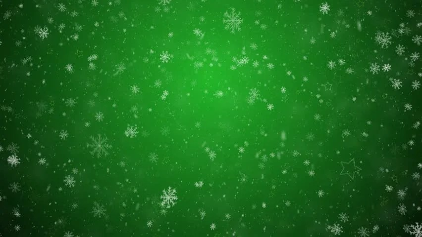 Falling Snowflakes And Stars On Stock Footage Video 100
