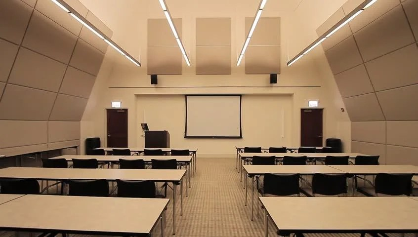 Lecture Classroom Business The Inside Stock Footage Video