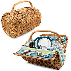 Picnic Time Barrel St. Tropez Picnic Basket