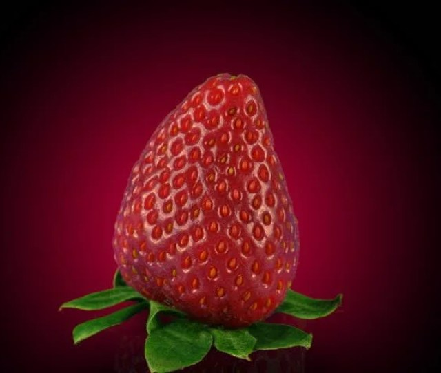 Fresh Strawberry In Erotic Context Stock Footage Video