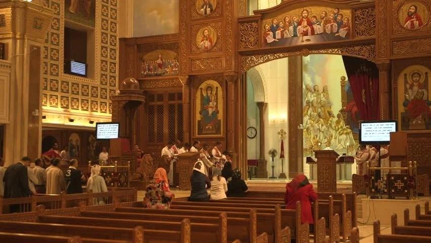 Kuwait 2013 Kuwait Churches Stock Footage Video 100