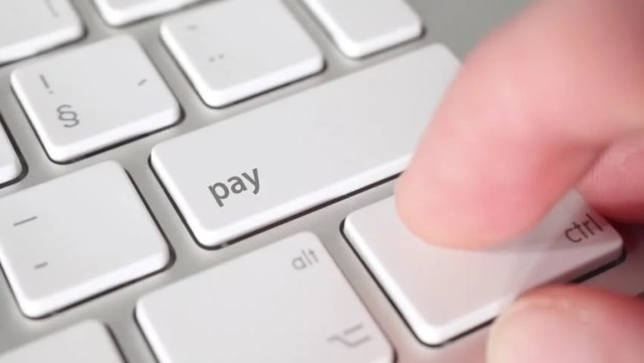 Electronic Payment Concept - Keyboard Stock Footage Video (100% Royalty-free) 2992354   Shutterstock