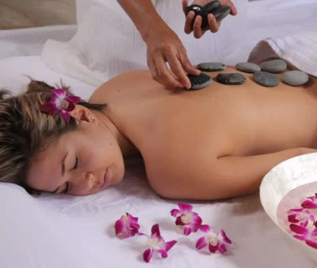 Stock Video Of Woman Gets Hot Stone Spa Treatment  Shutterstock
