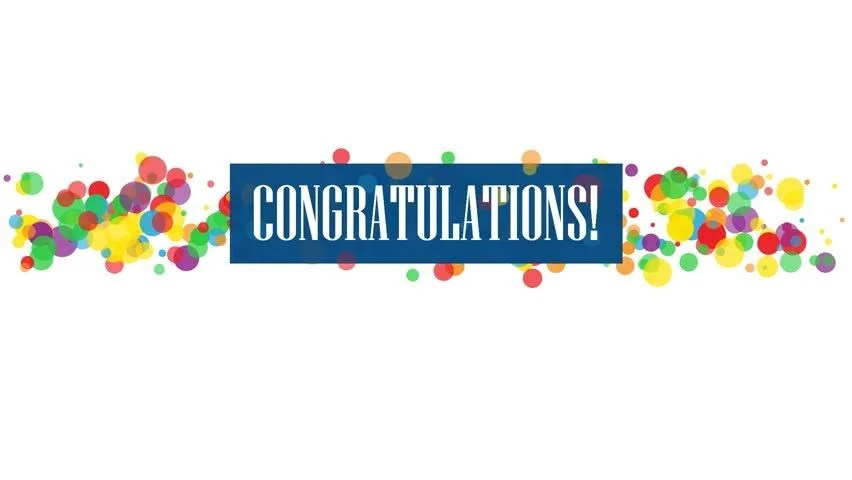 Congratulations! Colorful Kinetic Type Banner Stock Footage Video (100% Royalty-free) 1023128893 | Shutterstock