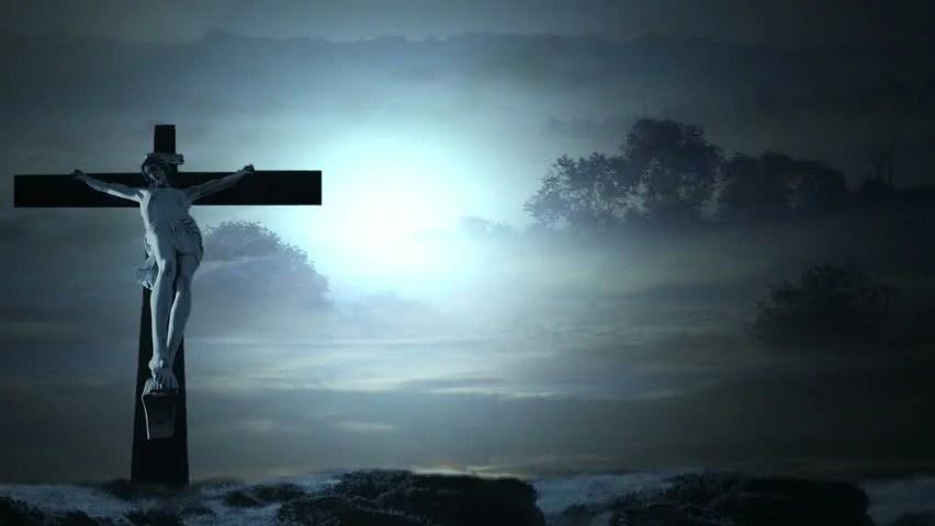 Jesus Christ Cross Background