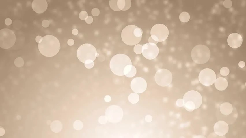 Soft Beautiful Gold BackgroundsMoving Golden Gloss Particles On Background Loop Winter Theme