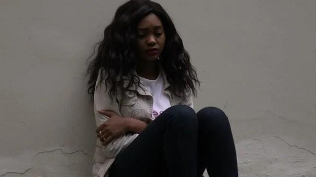 Image result for depressed black girl