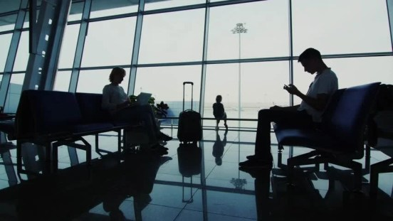 Image result for waiting in an airport