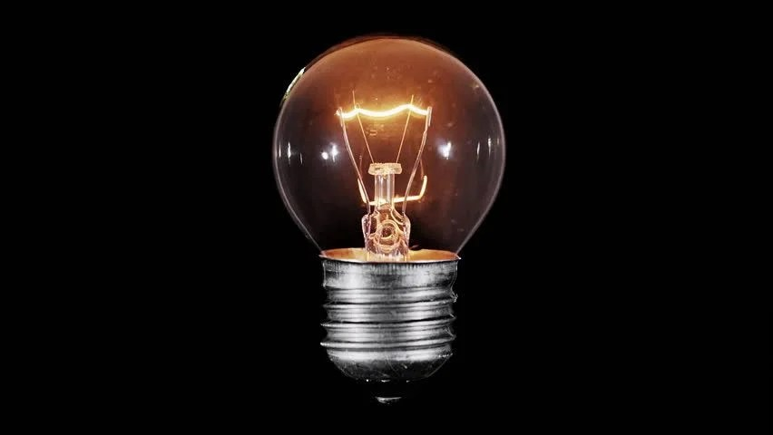 Picture Light Bulb Glowing