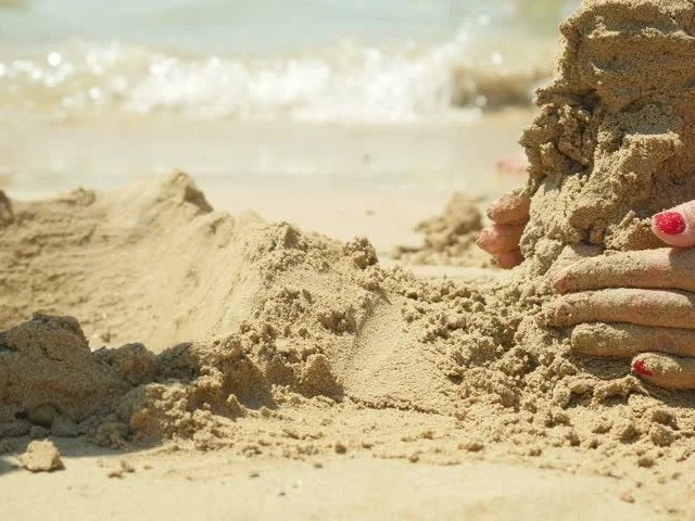 Image result for building sand castle
