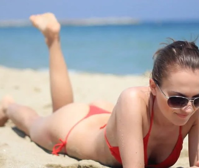 Sexy Girl In Red Thong Stock Footage Video 100 Royalty Free 1246756 Shutterstock