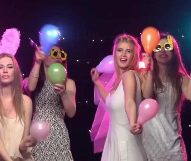 Bachelorette Party Girlfriends Having Fun Stock Footage Video 100 Royalty Free 16967536 Shutterstock