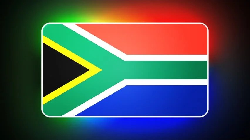 Image result for 3d image of South Africa flag