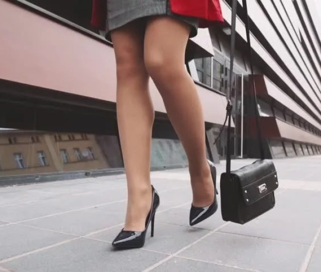 Sexy Woman Legs In Black Stock Footage Video 100 Royalty Free 16481977 Shutterstock