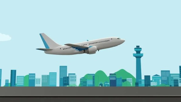Image result for airport cartoon