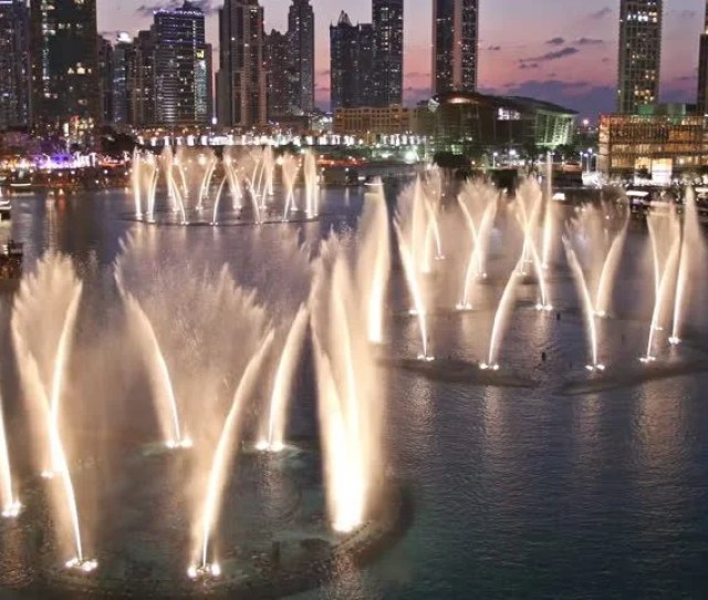 Dancing Fountain In Dubai