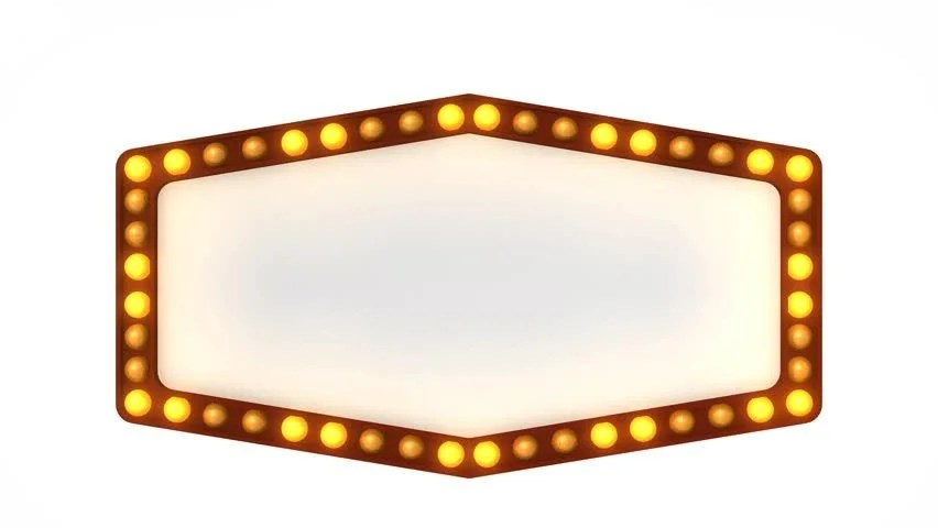 Flashing Light Picture Frame