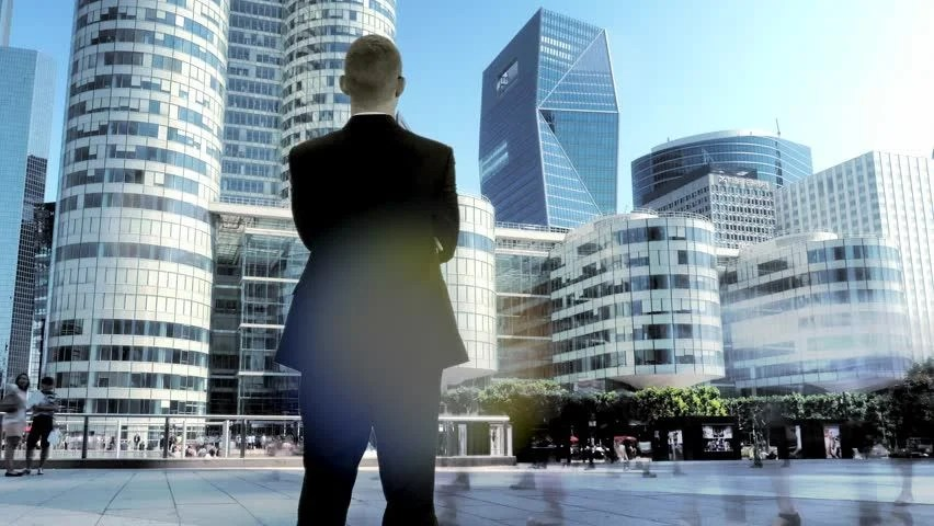 Young Business Manager Man Male Stock Footage Video 100