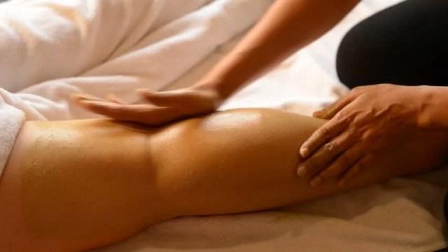 Massage Series Body Massage With Salt And Scrub