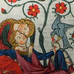 Codex Manesse_Konrad von Altstetten_die Liebkosung