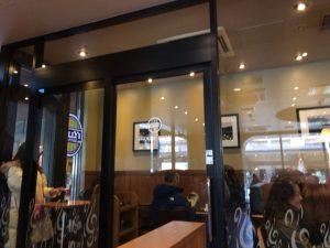 タリーズコーヒー喫煙所