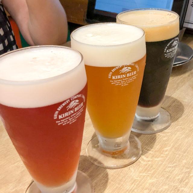 クラフトビールと餃子がいっぱい!『餃子いち五郎』