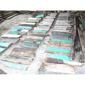 6 Ex Boat wood Material