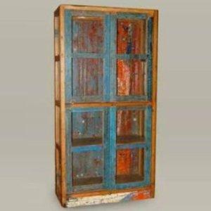 71 JRBW-04 Cabinet 4 Doors Glass