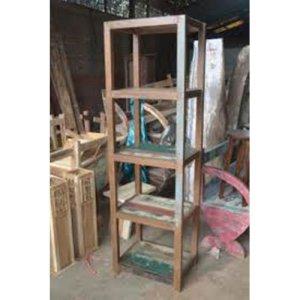 81 JRBW-06 Open Rack 4 Shelves