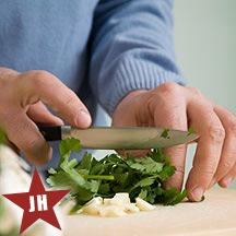 Herb chopping