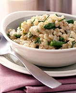 Barley-Asparagus Risotto with Balsamic Vinegar (image from weightwatchers.com)
