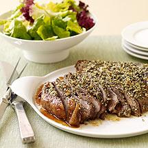 Roasted Sirloin Beef