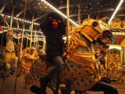 Classically went on merry-go-round